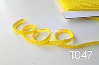 Тесьма со вставками желтый 9 мм (Т047)