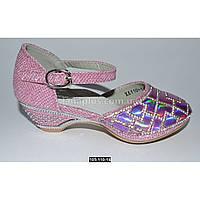 Нарядные туфли для девочки, 26-31 размер, праздничные туфельки на утренник, выпускной