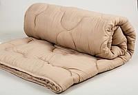 Одеяло Lotus Comfort Wool кофейное 140*205 полуторного размера