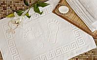 Полотенце махровые Lotus Отель - Белое для ног (600 г.) 50*70