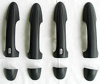 Toyota Hilux Revo 2014 накладки черные на дверные ручки