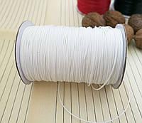 Шнур вощенный, белый, 1 мм, 160 м/катушка