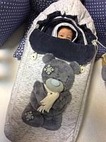 """Комплект на выписку и для прогулок """"Мишка Тедди"""", фото 1"""