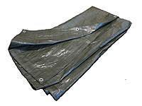 Тент ПВХ 10х15 Зеленый Плотность 130 гр