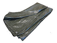 Тент ПВХ 10х20 Зеленый Плотность 130 гр