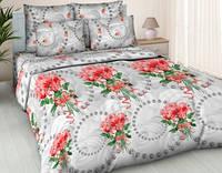 Комплект постельного белья  Жемчужная* роза (рис2). Двуспальный. Бязь