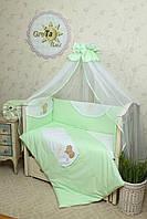 Комплект детского постельного белья для новорожденных Солнышко