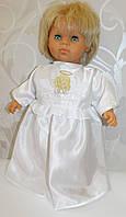 """Сорочка для крещения с вышивкой """"Ангелочек"""""""