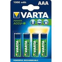 4 шт аккумулятор R03 Varta AAA 1000 professional