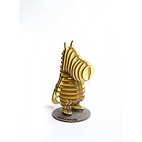 Деревянная Модель: Бегемот (Behemoth) , 10*17*13 см