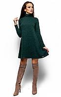 Коротке тепле темно-зелене плаття Brazilia (S-M)
