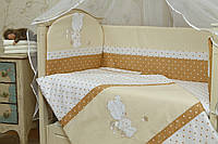Защитный бампер в детскую кроватку Рандеву