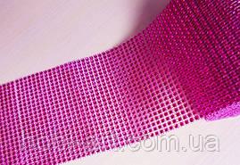 Шина декоративна   №  08 яскраво рожевий