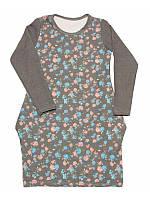 Стильное платье для девочки подростка