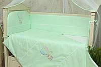 Набор постельного белья в кроватку (без балдахина) Круиз