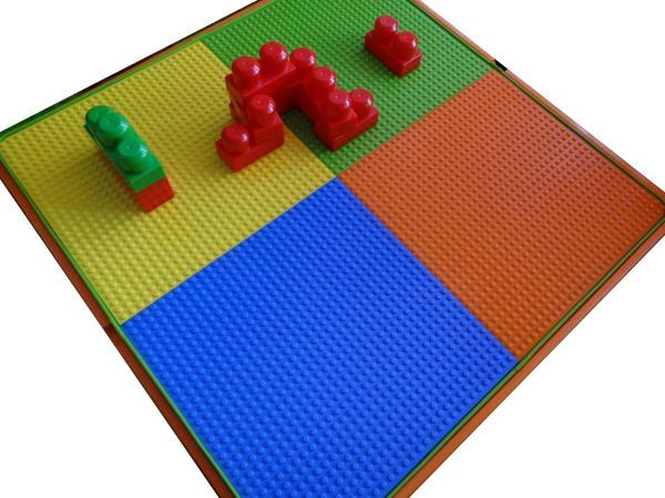 tega 903 Комплект детской мебели Tega Baby Mamut (стол + 2 стула)(оранжевий с зеленым(Orange Green)) 1085