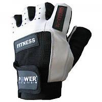 Перчатки для фитнеса Power System FITNESS PS 2300 L, черно-белый