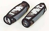 Гантели для фитнеса с мягкими накладками (2 x 1,5кг)  (2шт,нап.-метал.шарики, зел.камуфляж)