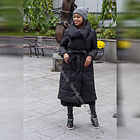 Хит! Модный пуховик-халат на самую лютую зиму