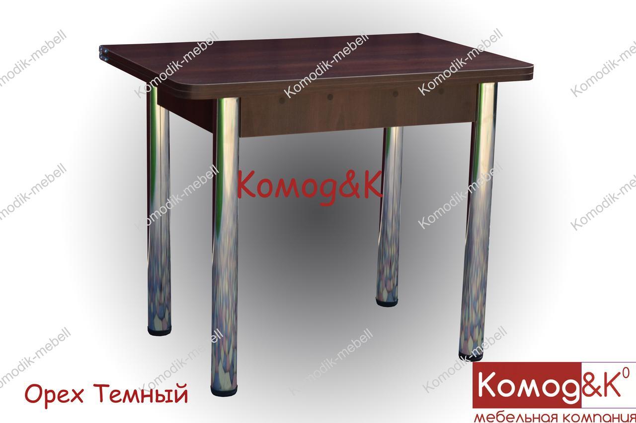 Стол Кухонный 900*600 раскладной  цвет Орех Темный