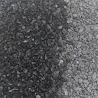 Цветная мраморная крошка 1.8-3 (25 кг.) Чёрный Nero