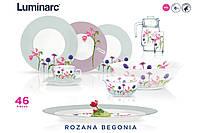 Rosana Begonia Сервиз столовый 46 пр. Luminarc N2143