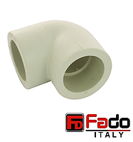 Колено PPR 32х90 полипропиленовое FADO Италия