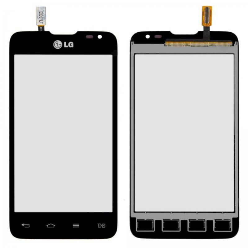 Сенсор LG D285 Optimus L65 black (оригинал), тач скрин для телефона см