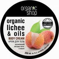 Крем для тела Розовый личи Organic Shop 250 мл