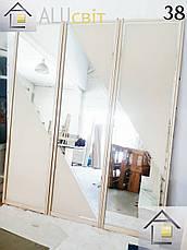 Межкомнатные раздвижные двери (перегородки) купе пескоструй, фотопечать, фото 3
