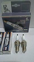 Свечи зажигания комплект Beru Z8 14 R-8 DU