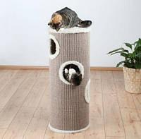Башня для кота 40х100 см бежевая, фото 1