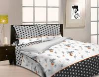 Комплект постельного белья  Бонсай (рис.1). Двуспальный. Бязь