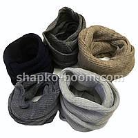 Детский вязанный шарф хомут