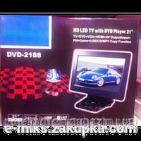 Портативный плеер TV DVD 2188 USB, HDMI, VGA