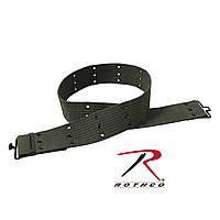Пистолетный ремень в военном стиле олива Rothco Military Style Pistol Belts