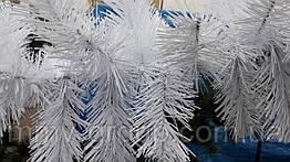 Гирлянда хвойная новогодняя Белая 200 см