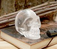 Череп каменный Горный Хрусталь (8х6х4 см)