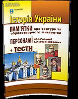 ЗНО 2018 | Історія України. Памятки архітектури та образотворчого мистецтва | Гiсем | Абетка