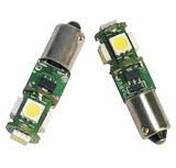 """BA9S / BAX9S (T4W) LED байонетні (цокольні) з """"обманкою"""" CAN BUS"""