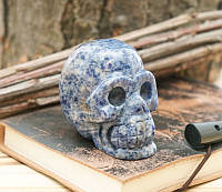 Череп каменный Лазурит (8х6х4см)