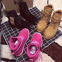 Женские ботинки dr.martens деми 3 цвета, фото 1