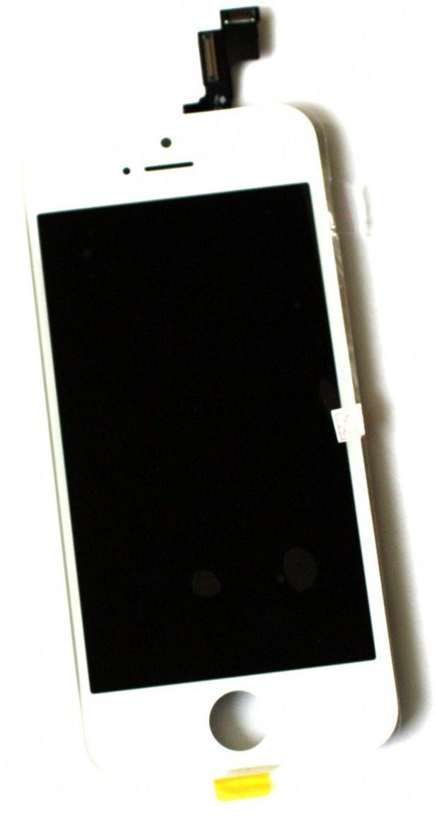 Модуль iPhone 5s white дисплей экран, сенсор тач скрин для телефона см