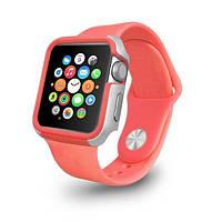Чехол OZAKI O!coat для Apple Watch 42cm-Shockband Pink