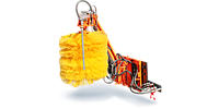 Щеточное оборудование для мойки барьерных ограждений с высоконапорным увлажнением ОМБ-1