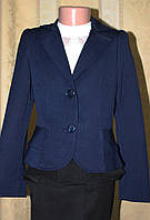 Пиджак для девочки (синий).