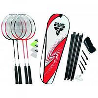 Бадминтон Talbot Torro Badminton Set 4 Attacker Plus 449515