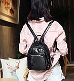 Рюкзак Sujimima чорний С96, фото 8