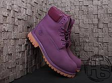 Женские ботинки Timberland Classic Boots Purple, фото 2
