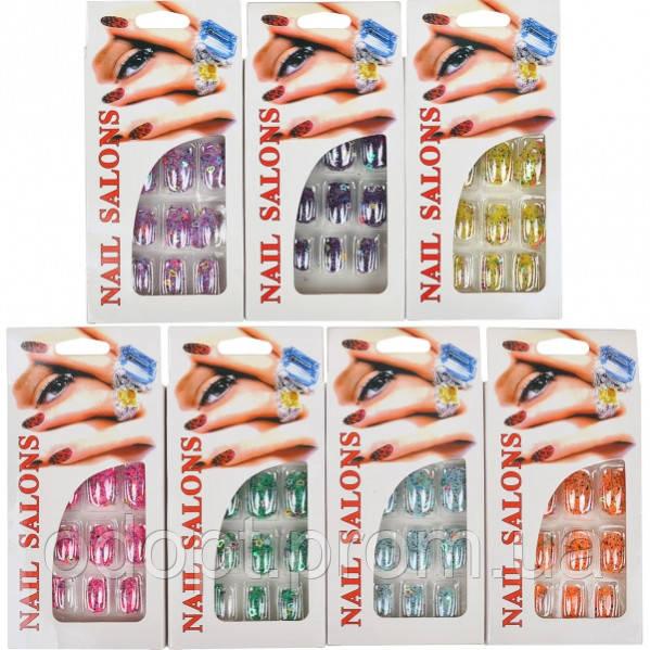 Набор накладных ногтей 136 (арт.136) - ОдОпт - оптово-розничный интернет магазин одежды и обуви в Одессе